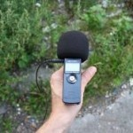 Tips to get a clear recording while out on the field