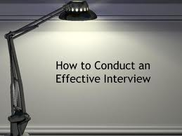 How to conduct an best interview