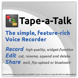 Tape a Talk Application