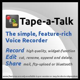 Tape a Talk Application