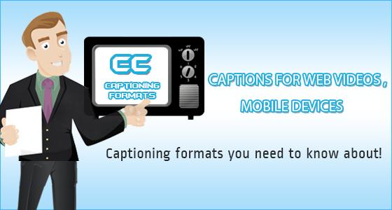 captioning formats