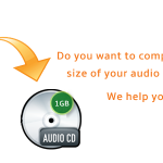 How to Compress a Tape Recorded File?