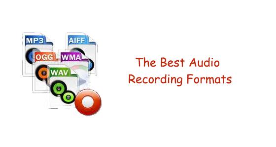 best-audio-recording-format
