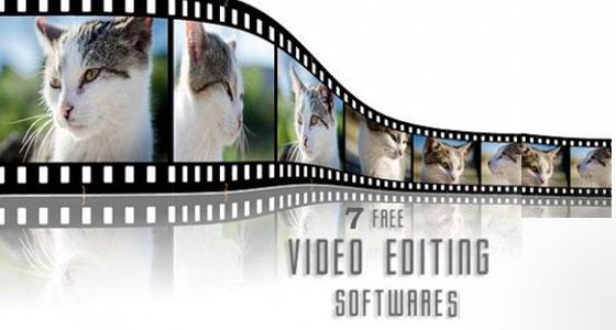 7  free video editing softwares