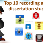 Top 10 recording apps for dissertation students!